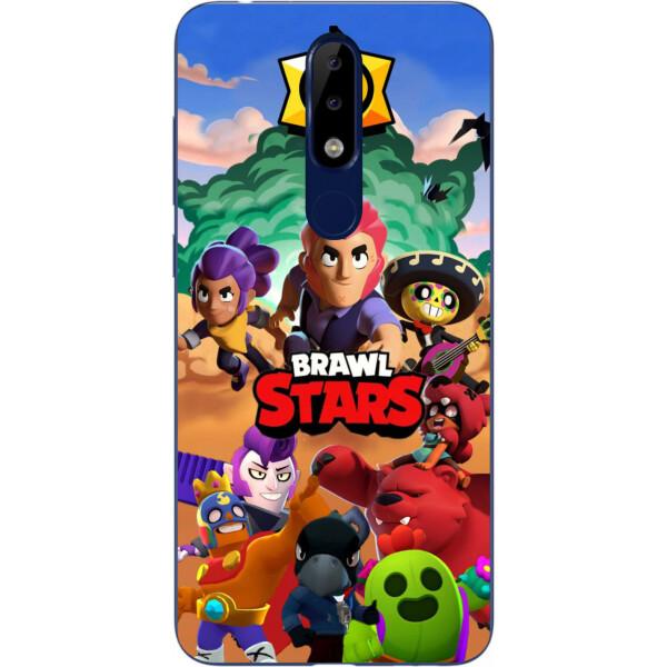 Купить Чехлы для телефонов, Силиконовый чехол Amstel для Nokia 5.1 2018 с картинкой Игра Brawl Stars