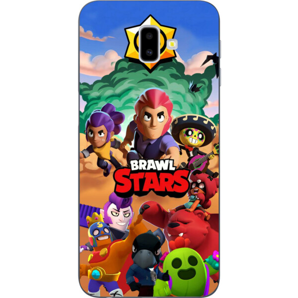 Чехлы для телефонов, Чехол Amstel с картинкой для Samsung Galaxy J6 Plus 2018 Игра Brawl Stars  - купить со скидкой