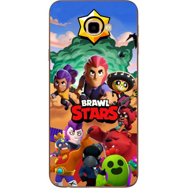 Купить Чехлы для телефонов, Силиконовый чехол Amstel для Samsung Galaxy J4 Plus 2018 с картинкой Игра Brawl Stars