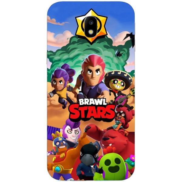 Купить Чехлы для телефонов, Силиконовый чехол Amstel с рисунком для Samsung Galaxy J3 2018 Игра Brawl Stars