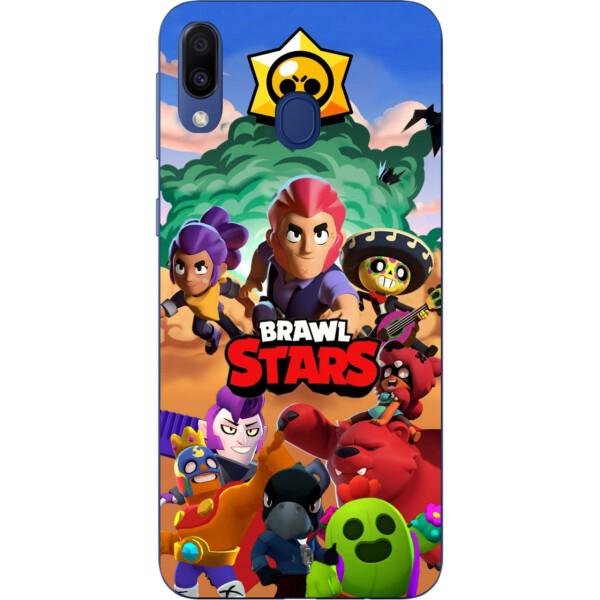 Купить Чехлы для телефонов, Силиконовый чехол Amstel с рисунком для Samsung Galaxy M20 Игра Brawl Stars