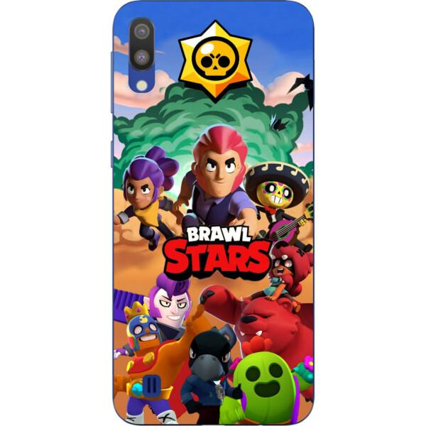 Купить Чехлы для телефонов, Силиконовый чехол с рисунком для Samsung Galaxy M10 / A10 Игра Brawl Stars, Amstel