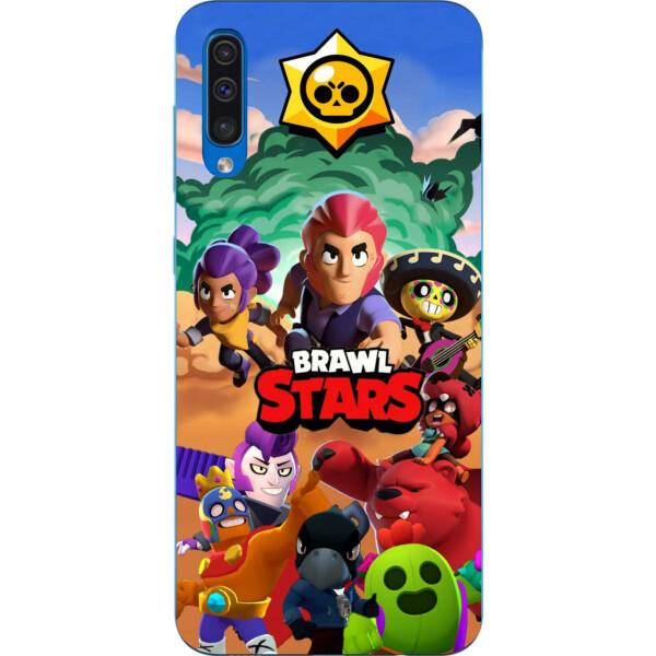 Купить Чехлы для телефонов, Силиконовый чехол Amstel с рисунком для Samsung Galaxy A50 2019 A505F Игра Brawl Stars