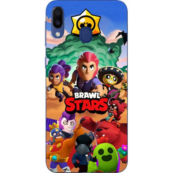 Купить Чехлы для телефонов, Силиконовый чехол Amstel с рисунком для Samsung Galaxy A20 2019 A205F Игра Brawl Stars