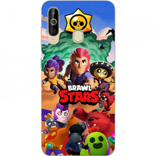 Купить Чехлы для телефонов, Силиконовый чехол Amstel с рисунком для Samsung A60 2019 Galaxy A6060 Игра Brawl Stars