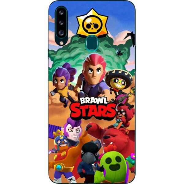 Купить Чехлы для телефонов, Силиконовый чехол Amstel с рисунком для Samsung A20s Galaxy A207F Игра Brawl Stars