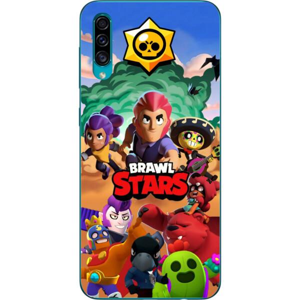 Купить Чехлы для телефонов, Силиконовый чехол Amstel с рисунком для Samsung A30s Galaxy A307F Игра Brawl Stars