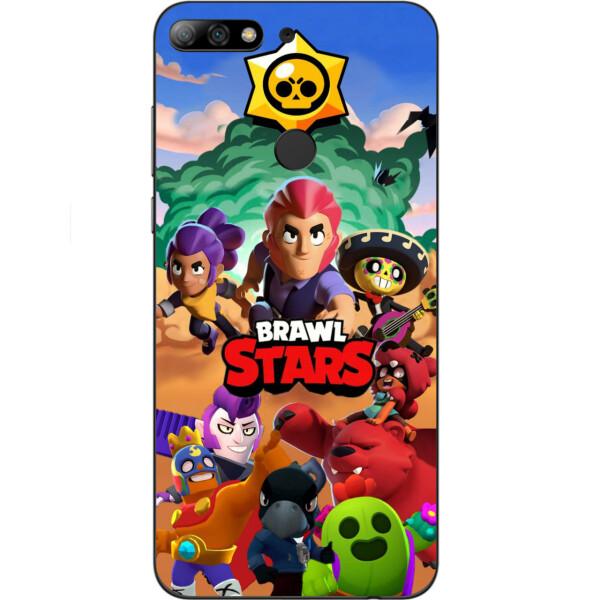 Купить Чехлы для телефонов, Силиконовый чехол бампер Amstel для Huawei Y7 Prime 2018 / honor 7C Pro с картинкой Игра Brawl Stars