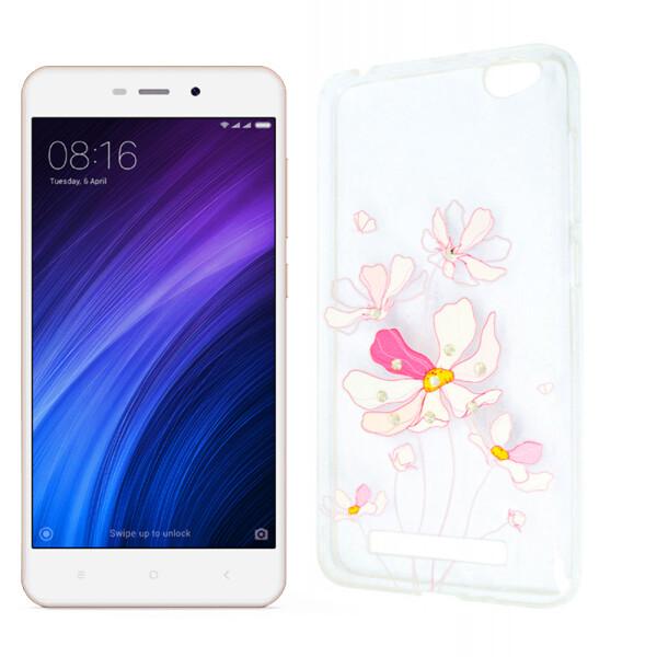 Купить Чехлы для телефонов, Чехол Lucent Diamond Case для Xiaomi Redmi 4a Iris (Pink) (16358)