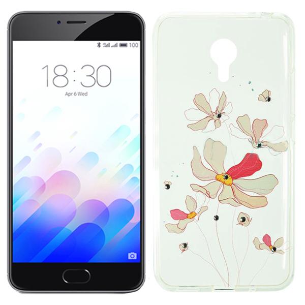 Купить Чехлы для телефонов, Чехол Lucent Diamond Case для Meizu M3 Note Iris (Pink) (6349)