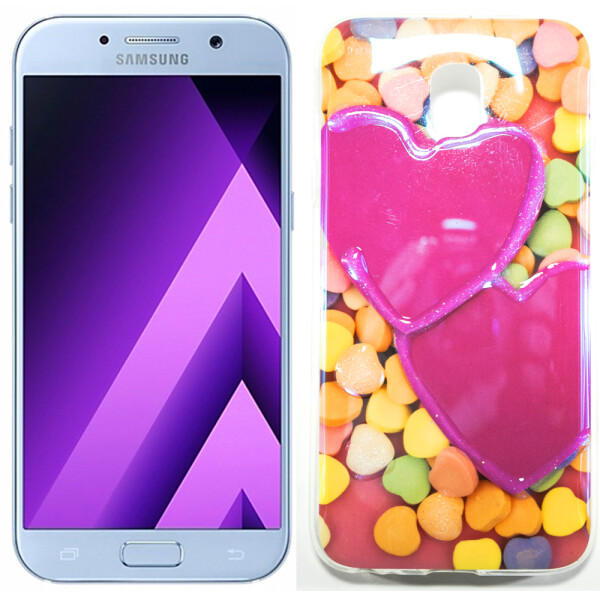 Купить Чехлы для телефонов, Чехол Remax Light Series для Samsung J730 (J7-2017) Candy Hearts (17750)