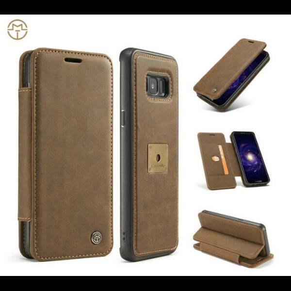 Купить Чехлы для телефонов, Чехол для смартфона Samsung Galaxy S8 КОРИЧНЕВЫЙ, CaseMe