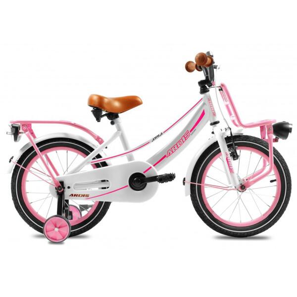 Купить Велосипеды, Велосипед детский Ardis Anna 2017 - 16, рама - 8, розовый (Anna-04091)