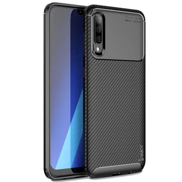Купить Чехлы для телефонов, TPU чехол iPaky Kaisy Series для Samsung Galaxy A70 (A705F) Черный