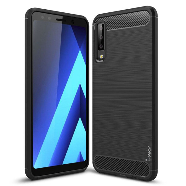Купить Чехлы для телефонов, TPU чехол iPaky Slim Series для Samsung A750 Galaxy A7 (2018) Черный