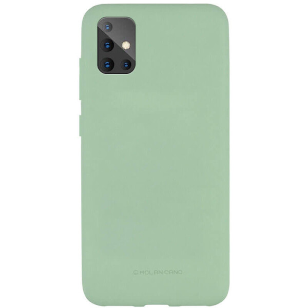 Купить Чехлы для телефонов, TPU чехол Molan Cano Smooth для Samsung Galaxy A51 Зеленый, Epik