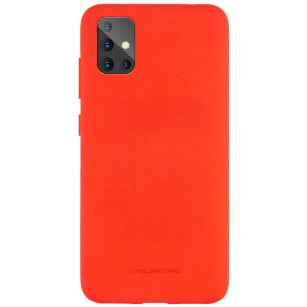 Купить Чехлы для телефонов, TPU чехол Molan Cano Smooth для Samsung Galaxy A51 Красный, Epik