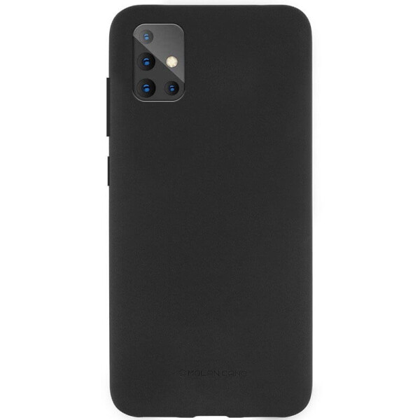 Купить Чехлы для телефонов, TPU чехол Molan Cano Smooth для Samsung Galaxy A51 Черный, Epik