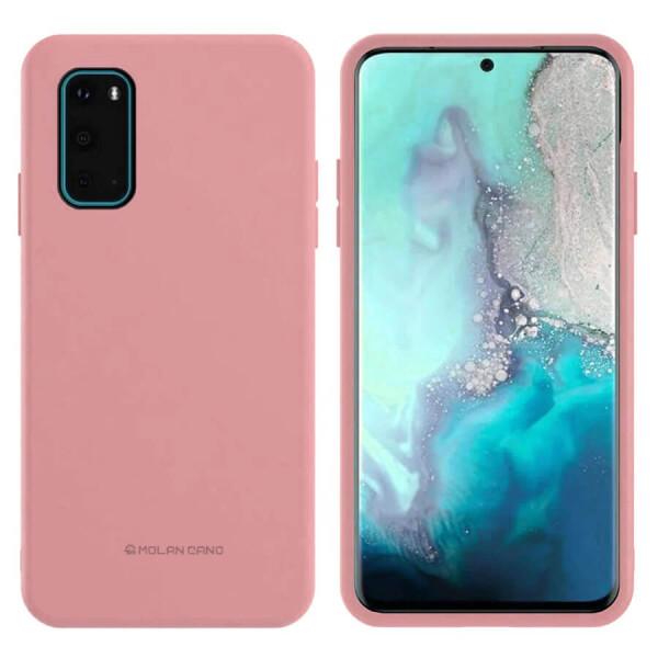 Купить Чехлы для телефонов, TPU чехол Molan Cano Smooth для Samsung Galaxy S20 Розовый, Epik