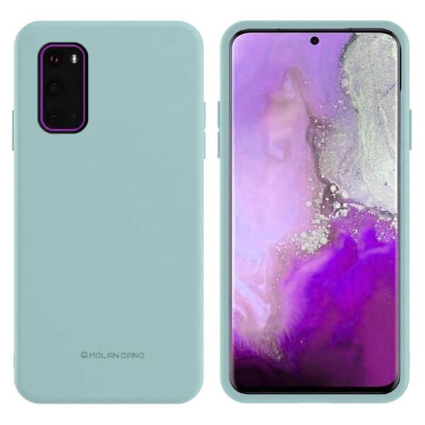 Купить Чехлы для телефонов, TPU чехол Molan Cano Smooth для Samsung Galaxy S20+ Голубой, Epik