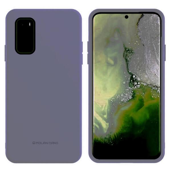Купить Чехлы для телефонов, TPU чехол Molan Cano Smooth для Samsung Galaxy S20+ Серый, Epik
