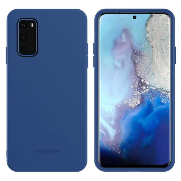 Купить Чехлы для телефонов, TPU чехол Molan Cano Smooth для Samsung Galaxy S20+ Синий, Epik