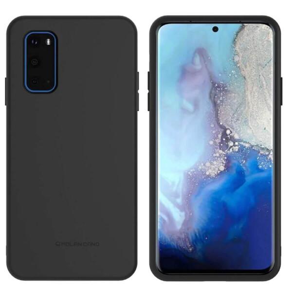 Купить Чехлы для телефонов, TPU чехол Molan Cano Smooth для Samsung Galaxy S20+ Черный, Epik