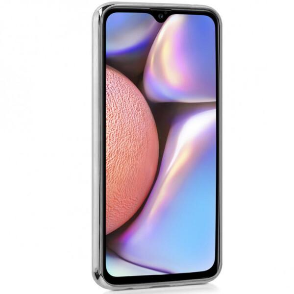 Купить Чехлы для телефонов, TPU+Glass чехол Gradient Rainbow с лого для Samsung Galaxy A10s Синий, Epik