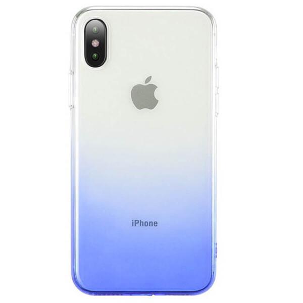 Купить Чехлы для телефонов, TPU+PC Ombre для Apple iPhone XS Max (6.5 ) Синий, Epik