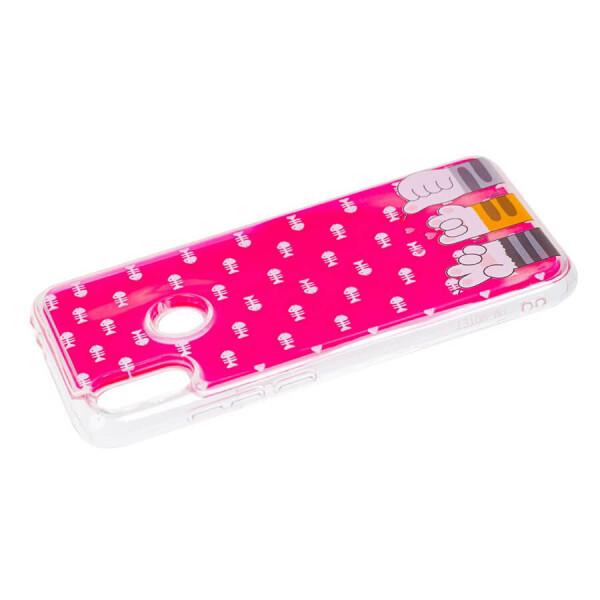 Купить Чехлы для телефонов, TPU+PC чехол ForFun Neon sand для Xiaomi Redmi Note 7 / Note 7 Pro / Note 7s Розовый Лапы, Epik