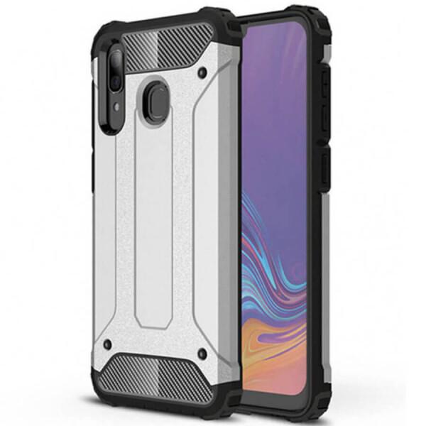 Купить Чехлы для телефонов, Бронированный противоударный TPU+PC чехол SPIGEN (HC) для Samsung Galaxy A70 (A705F) Серый, Epik
