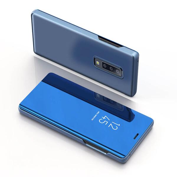 Купить Чехлы для телефонов, Чехол-книжка Clear View Standing Cover для Samsung A750 Galaxy A7 (2018) Черный, Epik