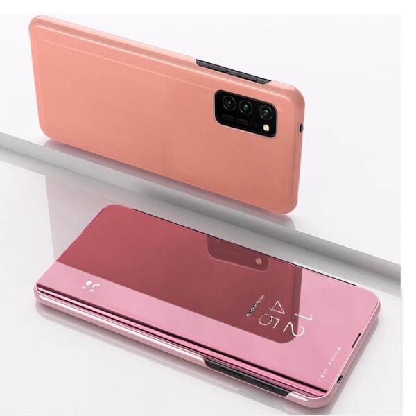 Купить Чехлы для телефонов, Чехол-книжка Clear View Standing Cover для Samsung Galaxy S20+ Синий, Epik
