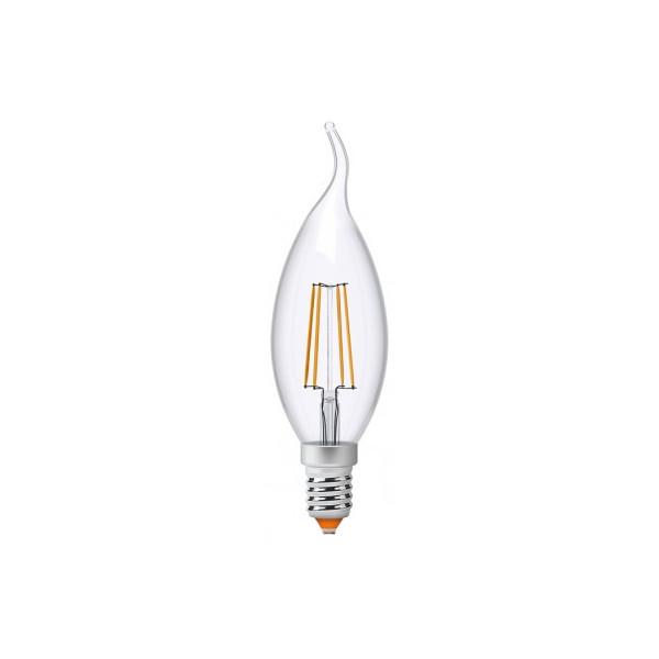Купить Лампочки, Лампа филаментая Videx C37Ft 4W E14 4100K 220V (VL-C37Ft-04144)