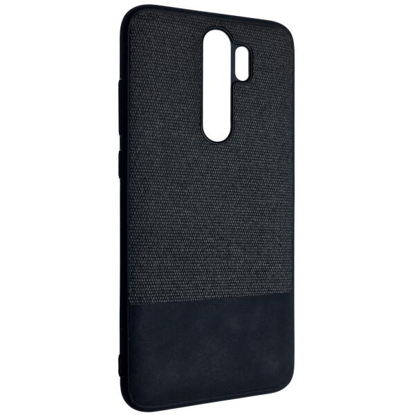 Купить Чехлы для телефонов, Чехол-накладка DK Silicone Form Fabric Cotton для Xiaomi Redmi Note 8 Pro (black), DK-Case