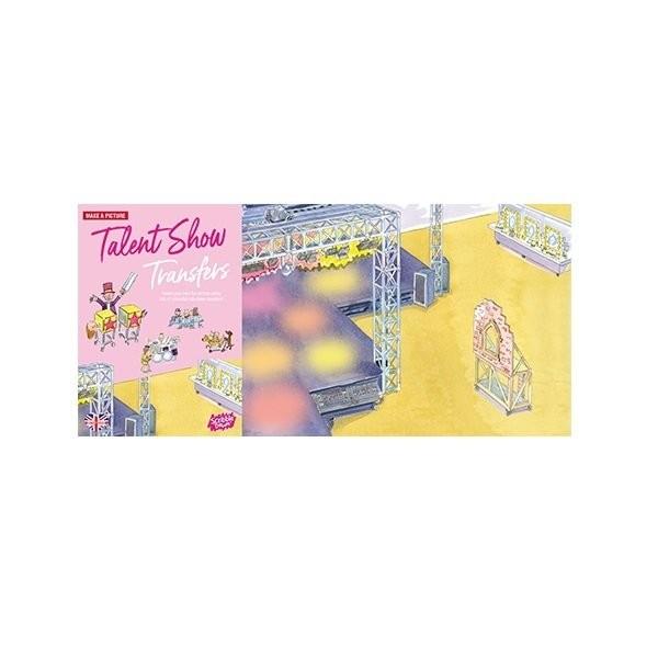 Купить Наборы для творчества и рукоделия, Переводные наклейки Scribble Down Шоу талантов (SD/18)