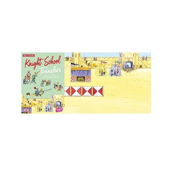 Купить Наборы для творчества и рукоделия, Переводные наклейки Scribble Down Школа рыцарей (SD/10)