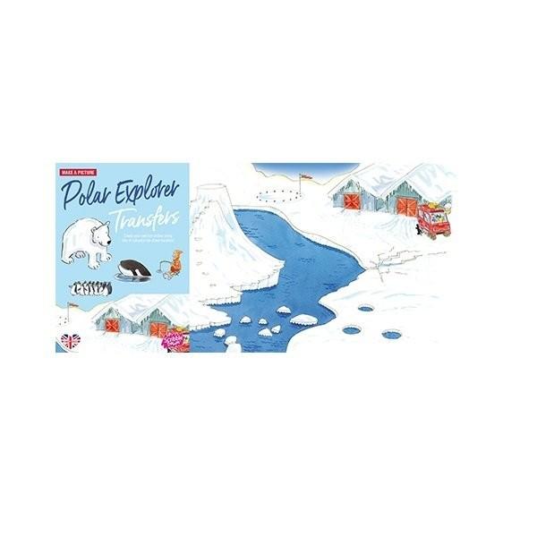 Наборы для творчества и рукоделия, Переводные наклейки Scribble Down Северный полюс (SD/15)  - купить со скидкой