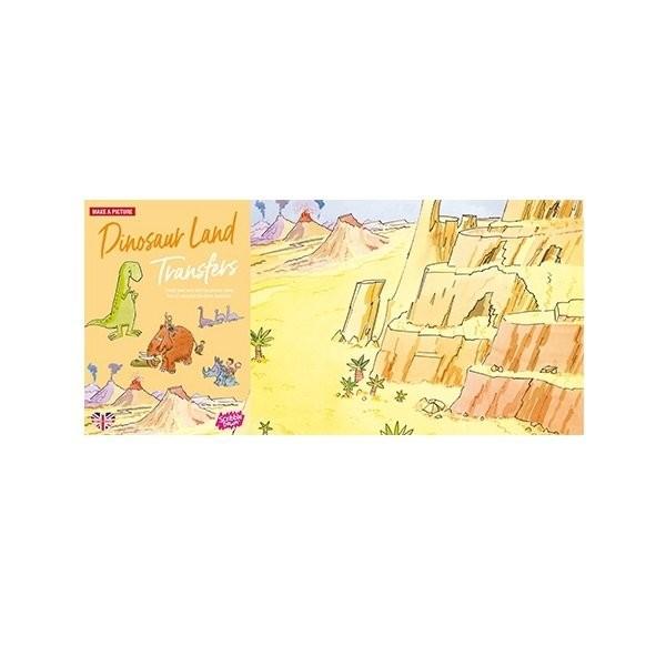 Наборы для творчества и рукоделия, Переводные наклейки Scribble Down Страна динозавров (SD/08)  - купить со скидкой