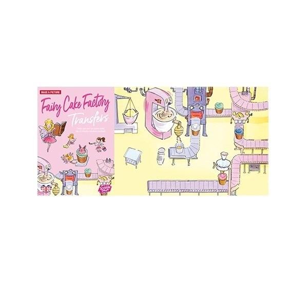 Наборы для творчества и рукоделия, Переводные наклейки Scribble Down Кондитерская фей (SD/09)  - купить со скидкой