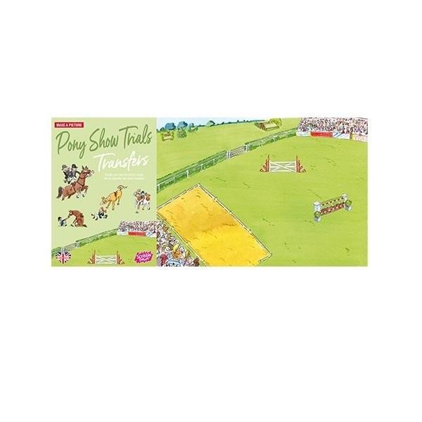 Наборы для творчества и рукоделия, Переводные наклейки Scribble Down Соревнования Пони (SD/12)  - купить со скидкой