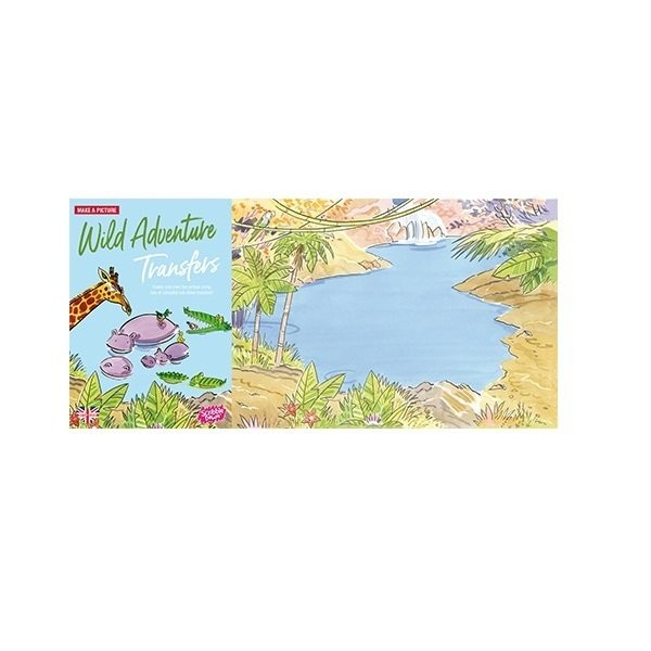 Наборы для творчества и рукоделия, Переводные наклейки Scribble Down Дикие приключения (SD/03)  - купить со скидкой