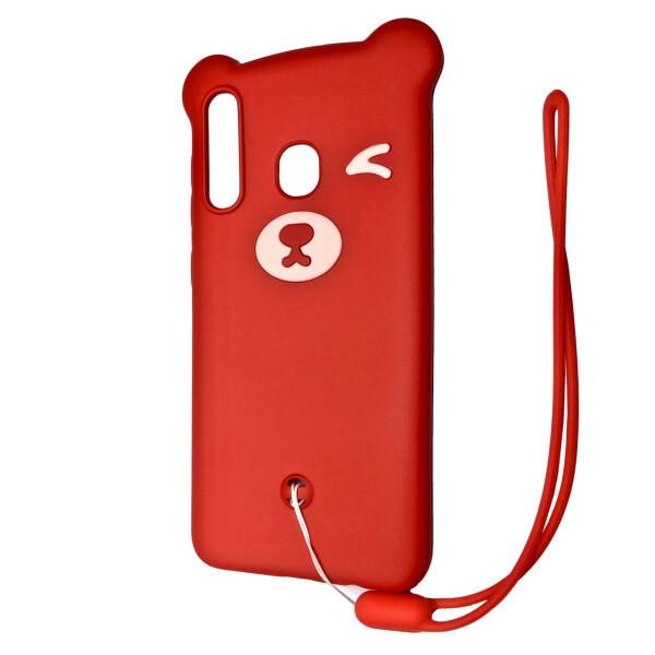 Купить Чехлы для телефонов, Чехол-накладка DK Silicone Winking Bear для Samsung A20 / A30 (02), DK-Case