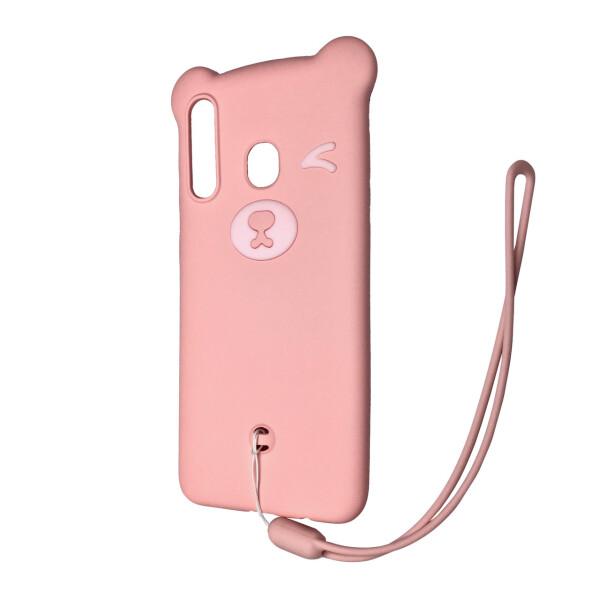 Купить Чехлы для телефонов, Чехол-накладка DK Silicone Winking Bear для Samsung A20 / A30 (03), DK-Case
