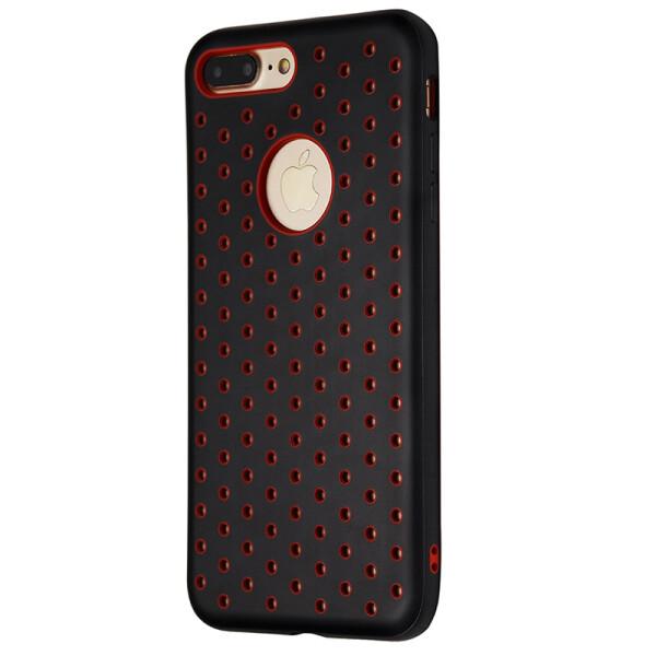 Купить Чехлы для телефонов, Чехол-накладка DK силикон Nike под лого для Apple iPhone 7 / 8 Plus (red), DK-Case