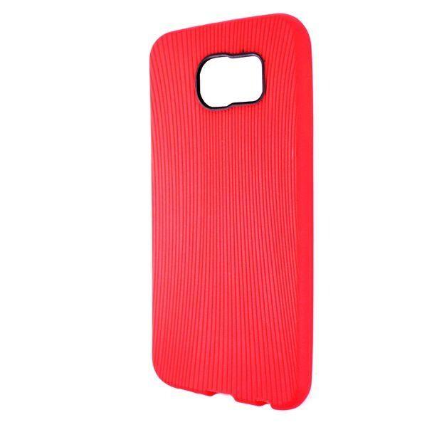 Купить Чехлы для телефонов, Чехол-накладка DK-Case силикон Rock Melody для Samsung S6 (red)
