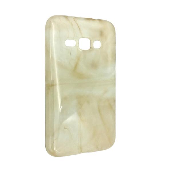 Купить Чехлы для телефонов, Чехол-накладка DK-Case силикон Мрамор для Samsung J120 (cream)
