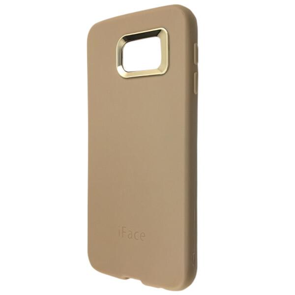 Купить Чехлы для телефонов, Чехол-накладка силикон iFace для Samsung S6 (cream), DK-Case