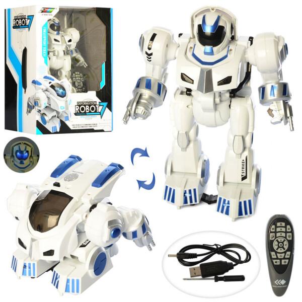 Купить Радиоуправляемые модели, Робот на радиоуправлении Le Neng Toys со звуковыми и световыми эффектами (K4)