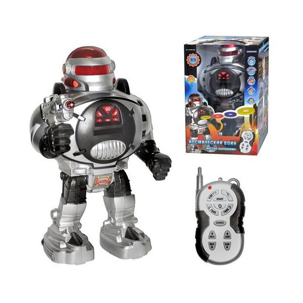 Купить Радиоуправляемые модели, Робот на радиоуправлении METR+, стреляет дисками (M 0465) (M 0465), Метр+